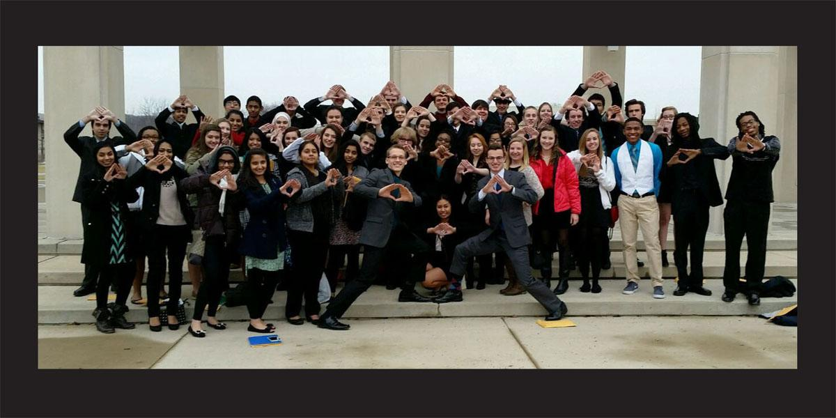 Twenty-four Willowbrook students to compete in DECA State competition