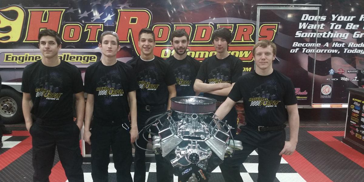 Six Willowbrook students compete in Hot Rodders of Tomorrow Engine Challenge