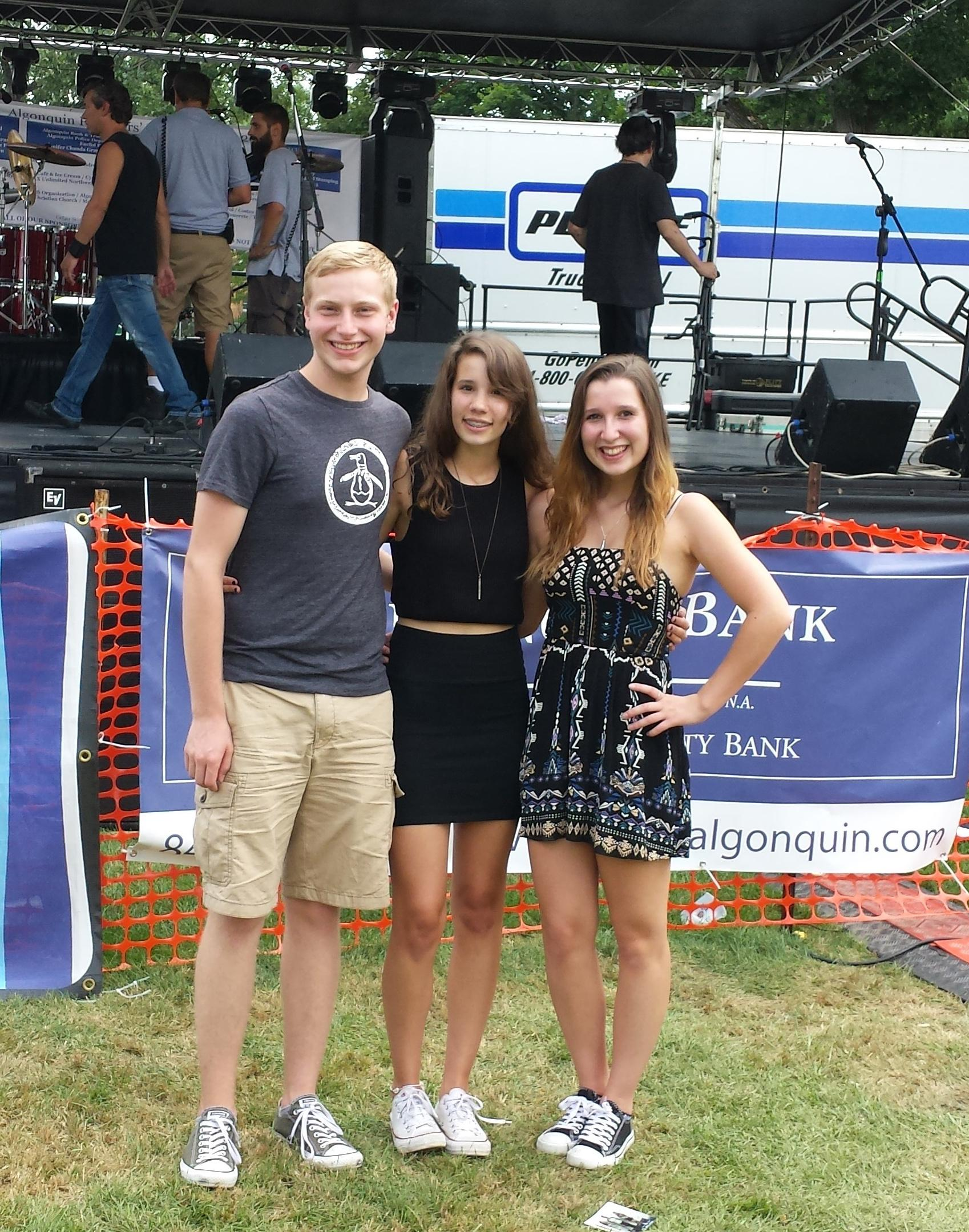 Music group comprised of Willowbrook students wins two competitions